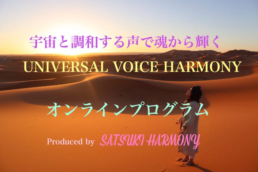 宇宙愛VOICE HARMONY〜オンラインプログラム〜